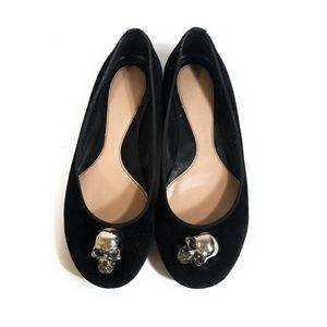 MCQ Alexander McQueen Women Skull Loafers Size 37